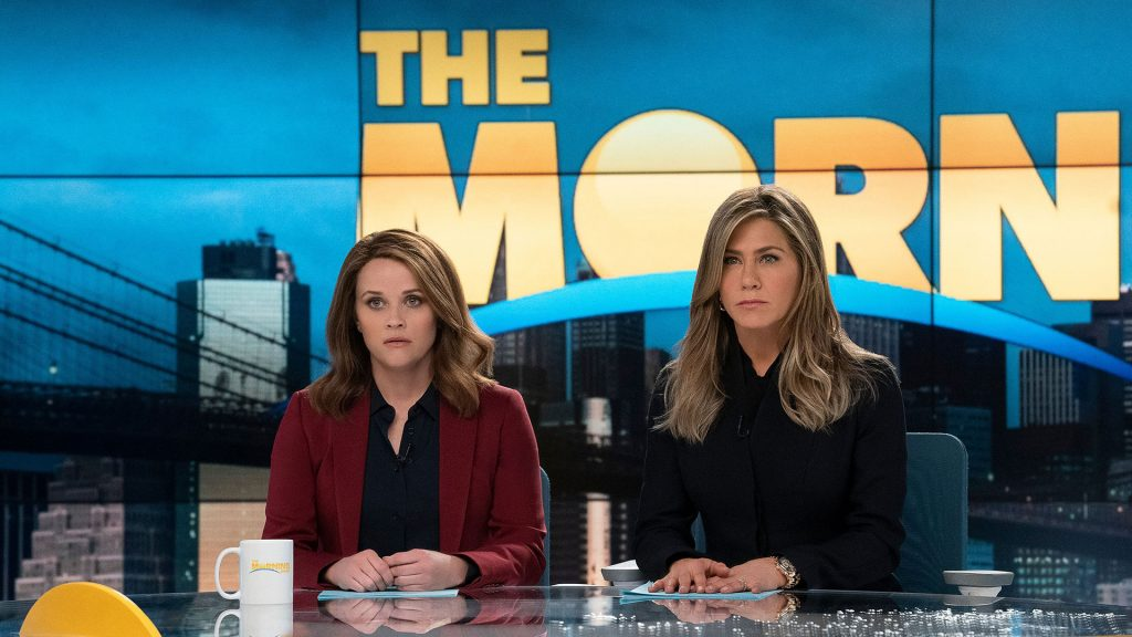 Reese Witherspoon y Jennifer Aniston en The Morning show